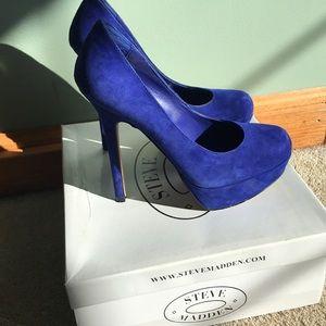Women's Steve Madden Heels- worn once!